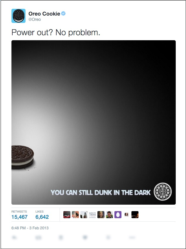 trendjacking example twitter via oreo